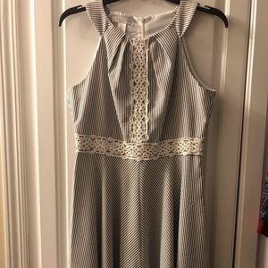 London Times seersucker dress